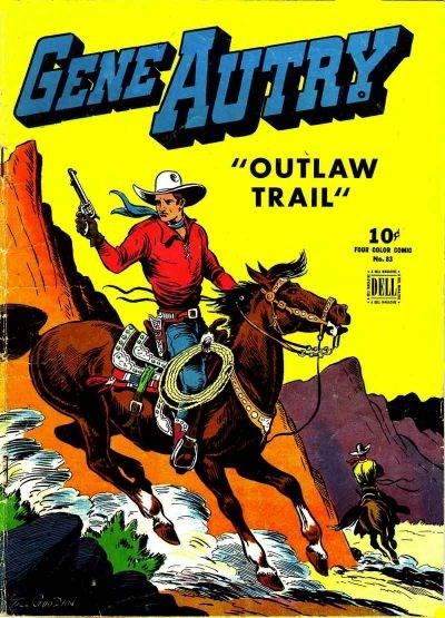 Comic Cover for Gene Autry Comics (Four-Color) (#83)
