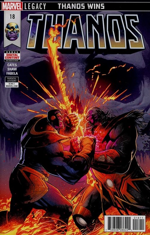 Comic Cover for Thanos (#18)