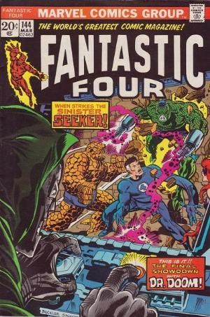 Comic Cover for Fantastic Four (#144)