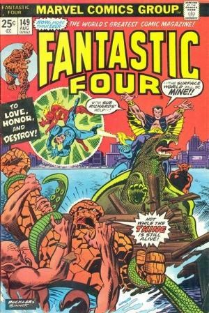 Comic Cover for Fantastic Four (#149)