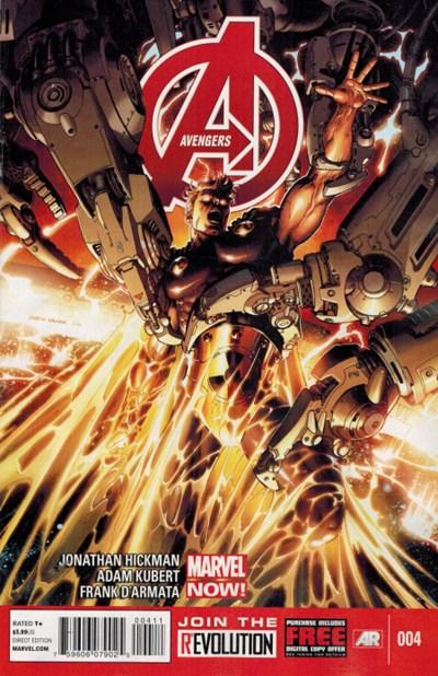 (Marvel) Cover for Avengers, The #4