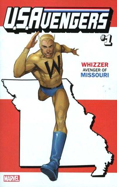 (Marvel) Cover for U.S.Avengers #1 Rod Reis Missouri State Variant Cover