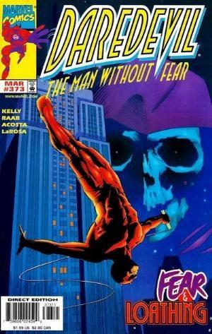 (Marvel) Cover for Daredevil #373