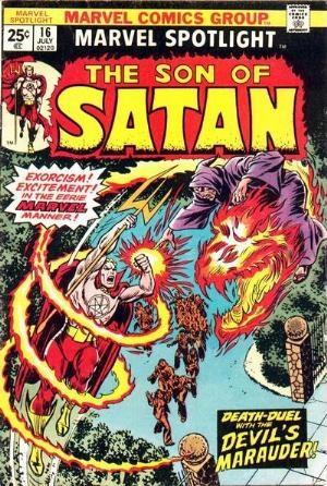 Comic Cover for Marvel Spotlight (#16)