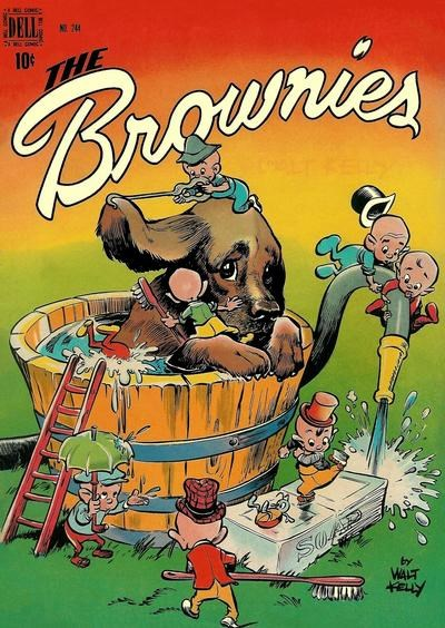Comic Cover for Brownies, The (Four-Color) (#244)