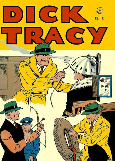 Comic Cover for Dick Tracy (Four-Color) (#133)
