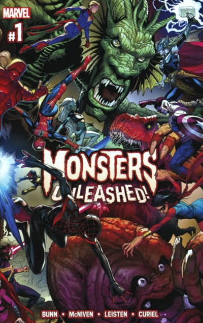 (Marvel) Cover for Monsters Unleashed #1