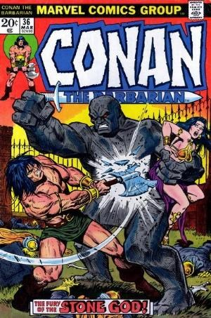 Comic Cover for Conan The Barbarian (#36)