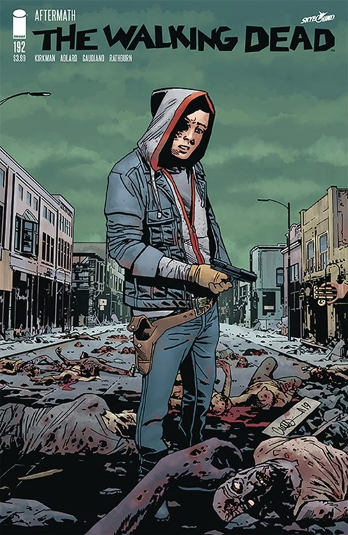 (Image) Cover for Walking Dead, The #192 Death of Rick Grimes