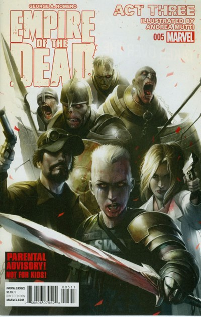 (Marvel) Cover for George Romero's Empire Of The Dead: Act Three #5
