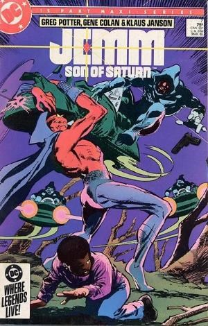 (DC) Cover for Jemm, Son Of Saturn #7