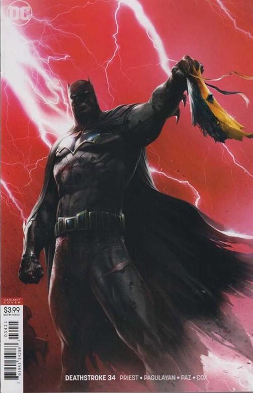 (DC) Cover for Deathstroke #34 Francesco Mattina Variant Cover