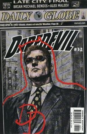 Comic Cover for Daredevil (#32)