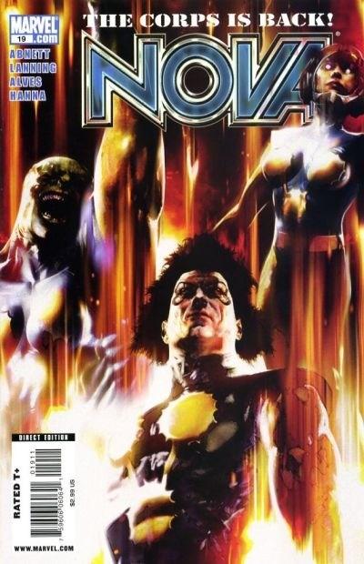 (Marvel) Cover for Nova #19