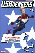 U.S.AVENGERS #1AA  Variant Cover Rod Reis Massachusetts State Variant Cover
