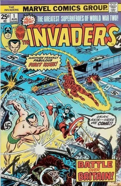 Comic Cover for Invaders, The (#1)