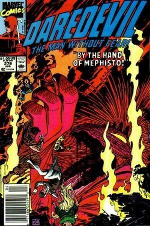 Comic Cover for Daredevil (#279)