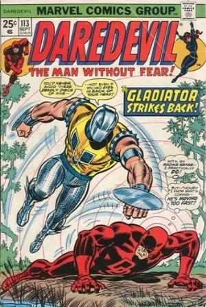 Comic Cover for Daredevil (#113)