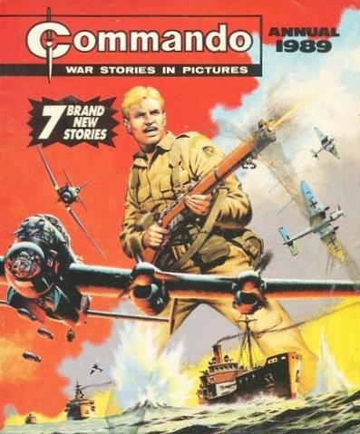(DC Thomson) Cover for Commando #1989
