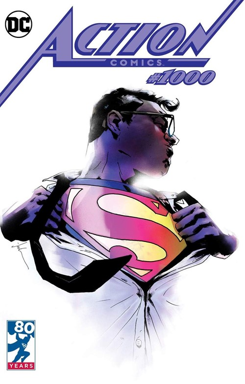 (DC) Cover for Action Comics #1000 Forbidden Planet Exclusive Jock Variant Cover Limited to 2500