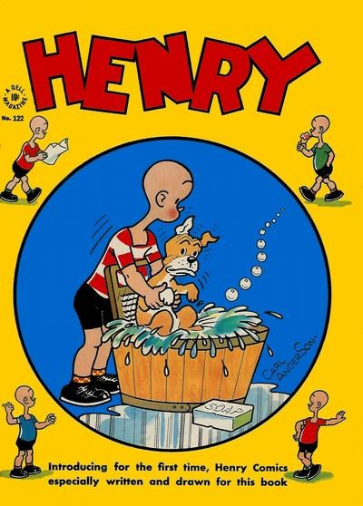 Comic Cover for Henry (Four-Color) (#122)