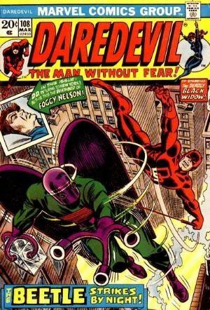 Comic Cover for Daredevil (#108)