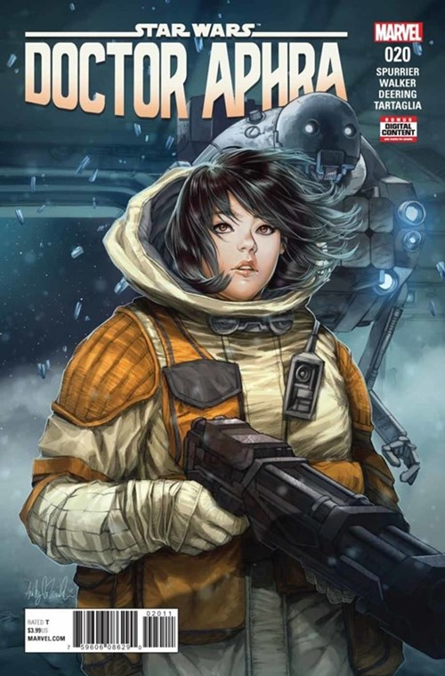 (Marvel) Cover for Doctor Aphra #20