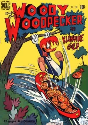 Comic Cover for Woody Woodpecker (Four Color) (#288)