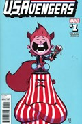 U.S.AVENGERS #1B  Variant Cover Skottie Young Variant Cover