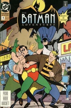 (DC) Cover for Batman Adventures #4