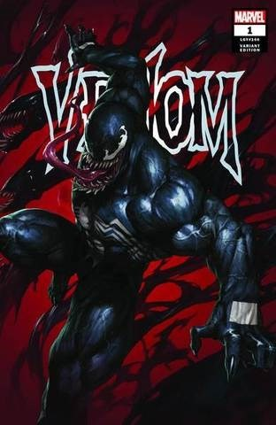 (Marvel) Cover for Venom #1 Supersonic Comics Exclusive Skan Srisuwan Variant Limited to 3000