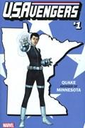 U.S.AVENGERS #1CC  Variant Cover Rod Reis Minnesota State Variant Cover