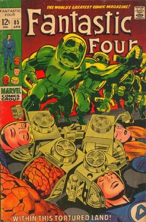 Comic Cover for Fantastic Four (#85)