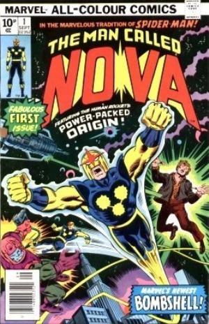 Comic Cover for NOVA (#)