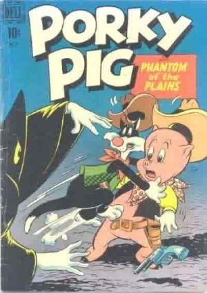 Comic Cover for Porky Pig (Four Color) (#271)