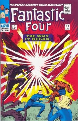 (Marvel) Cover for Fantastic Four #53 Origin of the Black Panther