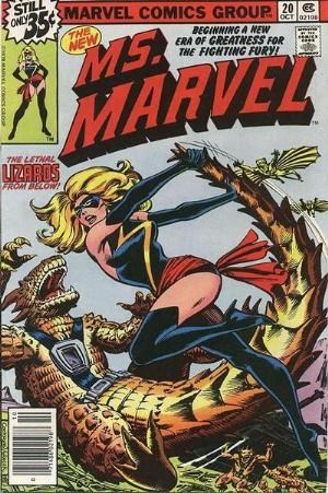 Comic Cover for Ms. Marvel (#20)