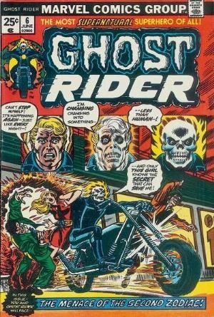 Comic Cover for Ghost Rider (#6)