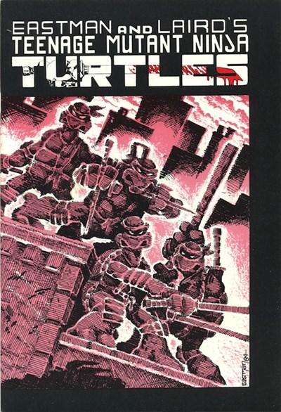 (Mirage Studios) Cover for Teenage Mutant Ninja Turtles #1 3rd Print