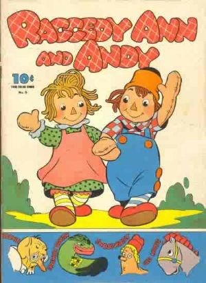 Comic Cover for Raggedy Ann And Andy (Four-Color) (#5)