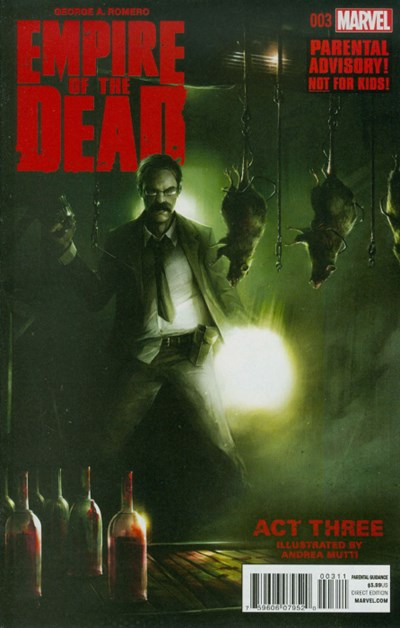(Marvel) Cover for George Romero's Empire Of The Dead: Act Three #3