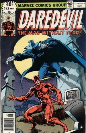 Comic Cover for Daredevil (#158)