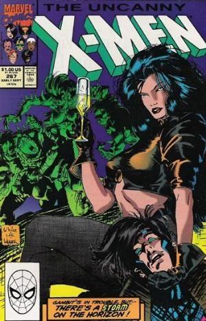 Comic Cover for Uncanny X-Men (#267)