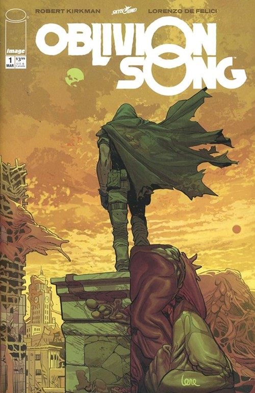 Comic Cover for Oblivion Song (#1)