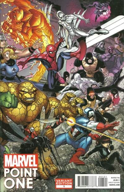 (Marvel) Cover for Marvel Point One #1 Nick Bradshaw Variant Cover - 1st Appearance of Nova (Sam Alexander)