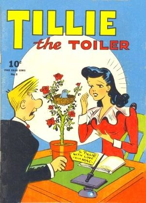 Comic Cover for Tillie The Toiler (Four-Color) (#8)