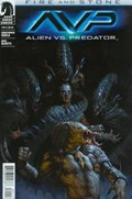 ALIEN VS. PREDATOR: FIRE AND STONE #1  Cover