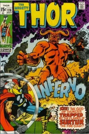Comic Cover for THOR (#)