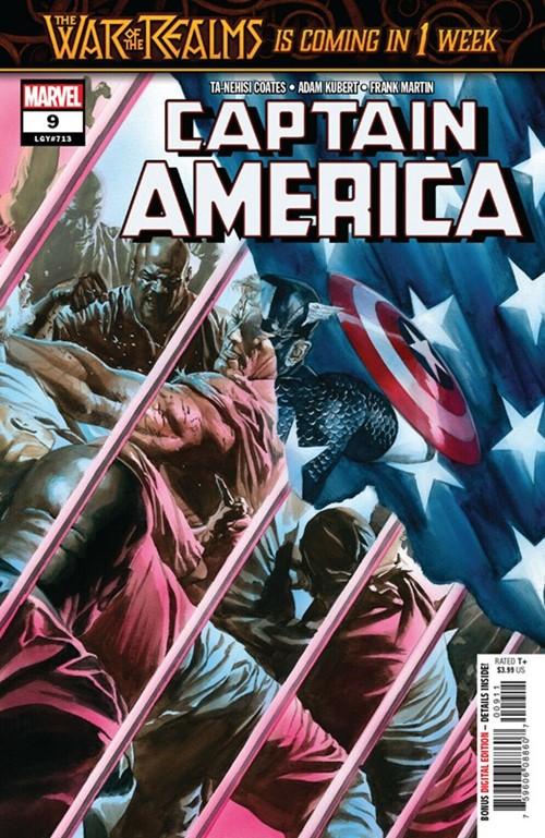 (Marvel) Cover for Captain America #9