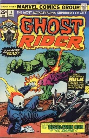 Comic Cover for Ghost Rider (#11)
